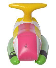 EZ Life Inflatable Bike Toy Cum Float For Kids - Multicolour