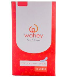 Wahey Perfumed Panty Liners - 50 Pieces