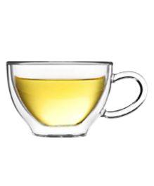 EZ Life Double Wall Tea Cups - Transparent