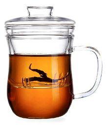 EZ Life Tea Infuser Glass - Transparent