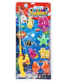 Smiles Creation Fishing Game Set Of 7 (Color May Vary)