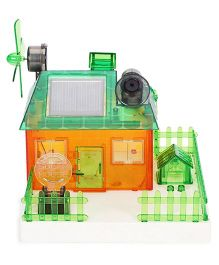Smiles Creation Solar Concept House Toy Kit - Orange Green
