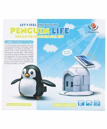 Smiles Creation Penguin Life Solar Kit Toy - Multicolor