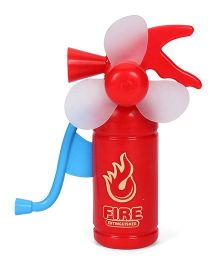 Smiles Creation Hand Fan - Red