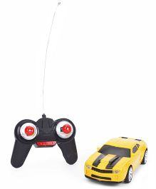 Smiles Creation Remote Control Car - Yellow