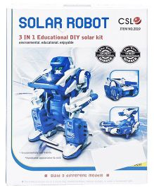 Smiles Creation DIY Solar Robot Kit - Multicolor