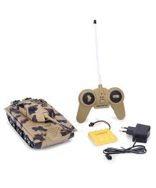 Smiles Creation Remote Controlled Tank Toy - Brown