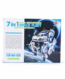 Smiles Creation 7 In 1 Space Solar Fleet Kit - Multicolor