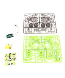Smiles Creation Educational Solar Kit - Green And Black