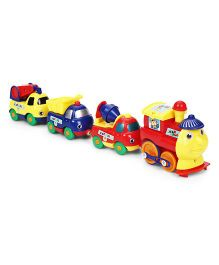 Smiles Creation Play Track Vehicle Set - Multicolor