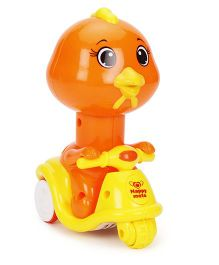 Smiles Creation Animal Toy Hen - Orange Yellow