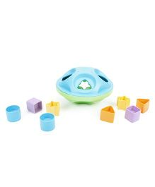 Smiles Creation Shape Sorter Rattle Set - Green Blue