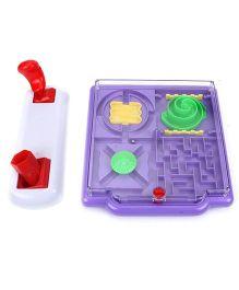 Smiles Creation Maze Game - Purple