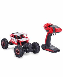 Smiles Creation Rock Crawler 4 WD Rally Car - Red Black