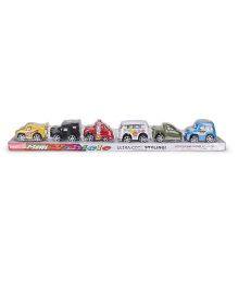 Smiles Creation Mini Vehicle Car Set - Multi Color