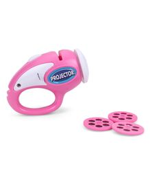 Smiles Creation 2 In 1 Projector And Flashlight - Pink