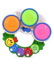 Smiles Creation Caterpillar Drum Set - Multicolor