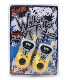 Smiles Creation Walkie Talkie Set - Yellow