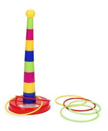 Smiles Creation Ring Toss Set  (Color May Vary)