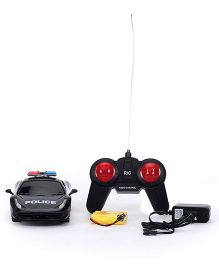 Smiles Creation Remote Controlled Police Car Toy - Black
