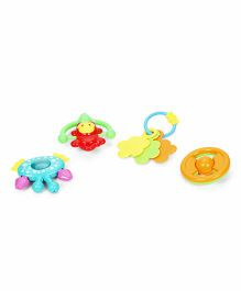 Smiles Creation Rattle Set Multicolor - Pack Of 4