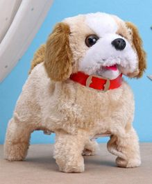 Smiles Creation Fantastic Puppy Toy Brown - 15 cm