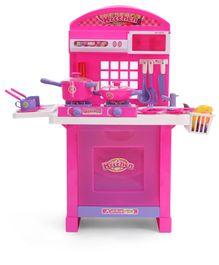 Smiles Creation Kitchen Set - Pink