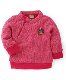 Little Kangaroos Full Sleeves Sweatshirt - Pink