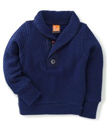 Little Kangaroos Full Sleeves Pullover - Navy