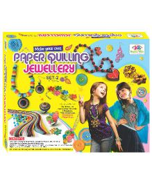 Happy Kidz Paper Quilling Jewellery Craft Kit Set 2