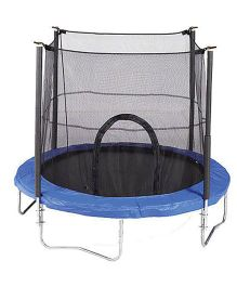Gro Kids Trampoline With Safety Net - Blue