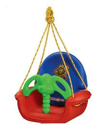 Gro Kids Adjustable Swing - Red Blue Green
