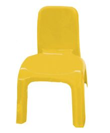 Gro Kids Plastic Chair - Yellow