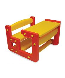 Gro Kids Scholar Desk And Chair Set - Red Yellow
