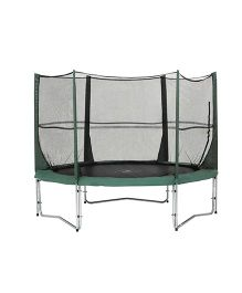 Gro Kids Trampoline With Safety Net - Green