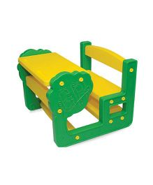 Gro Kids Table And Chair Set - Green Yellow