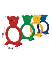 Gro Kids Monkey Step In 6 Pieces - Multicolor