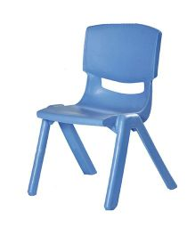 Gro Kids Plastic Chair - Blue