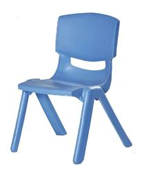Gro Kids Plastic Moulded Chair - Blue