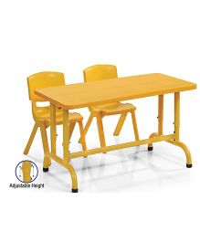 Gro Kids Mastero Desk Without Chair - Yellow