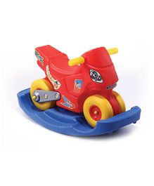 Gro Kids Speedy Scooter Ride On Rocker - Yellow Red