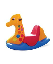 Gro Kids Giraffe Ride On Rocker - Multicolor