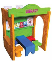 Gro Kids Library Role Play House - Multicolor