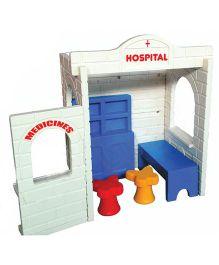 Gro Kids Hospital Role Play House - Multicolor
