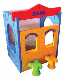 Gro Kids Bank Role Play House - Multicolor