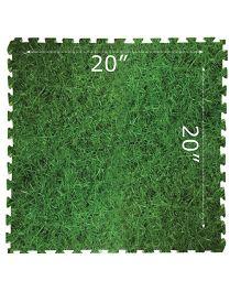 Gro Kids Grass Floor Mat Set Green - 4 Pieces