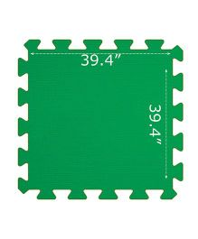 Gro Kids Floor Mat Set Green - 4 Pieces