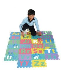 Gro Kids Floor Alphabet Mat Set Blue - 26 Pieces