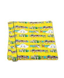 Gro Kids Floor Number Mat Set Yellow - 10 Pieces