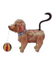 Welby Jolly Burno Dog Tin Toy - Brown